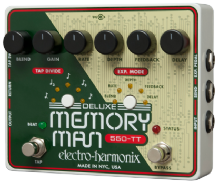 Electro Harmonix 550-TT Deluxe Memory Man With Tap Tempo Guitar Pedal NEW